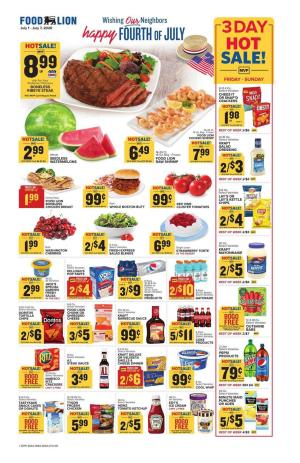 food lion weekly ad jul 1 2020