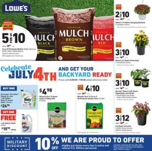 lowes weekly ad jun 25 2020