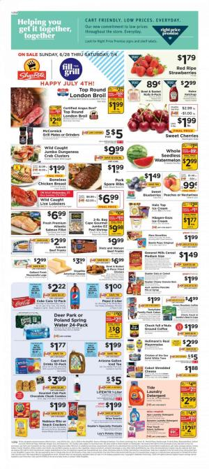 shoprite weekly ad jun 28 2020