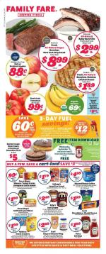Family Fare Ad Sep 15 21 2019
