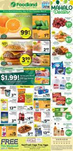 Foodland Weekly Ad May 15 21 2019