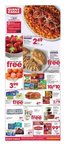 Giant Eagle Ad Sep 18 2019