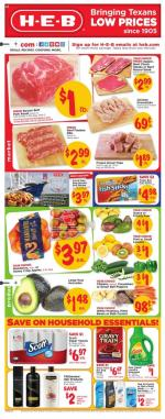 Heb Weekly Ad Sep 18 24 2019