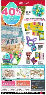Michaels Weekly Ad Apr 3 9 2020