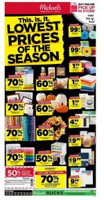 Michaels Weekly Ad Sep 13 21 2019