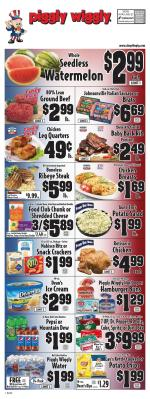 Piggly Wiggly Ad Jul 1 - 7, 2020