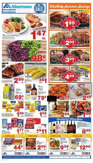 Albertsons Weekly Ad Aug 14 - 20, 2019 | Preview Ad, Market Deals