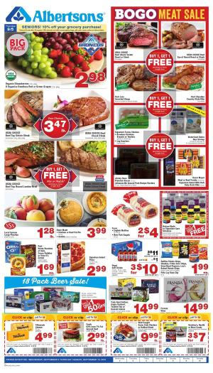 Albertsons Weekly Ad Sep 4 - 10, 2019 | Preview Ad, Market Deals