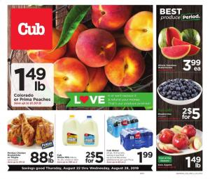 cub foods ad aug 22 28 2019