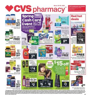 cvs weekly ad mar 22 2020
