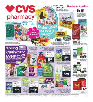 cvs weekly ad mar 29 2020