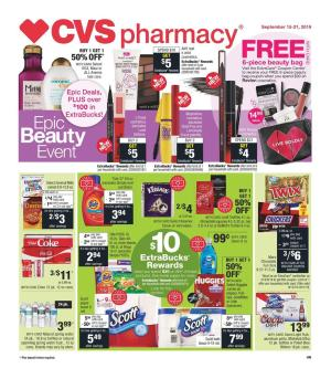 cvs weekly ad sep 15 2019