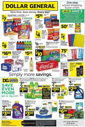 dollar general ad aug 18 2019