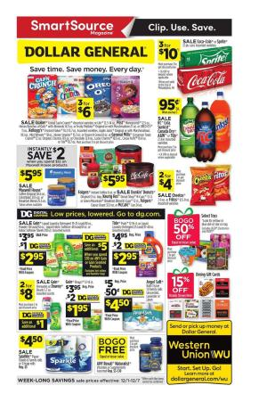 Dollar General Ad | Home Products, Grocery, DG Coupons