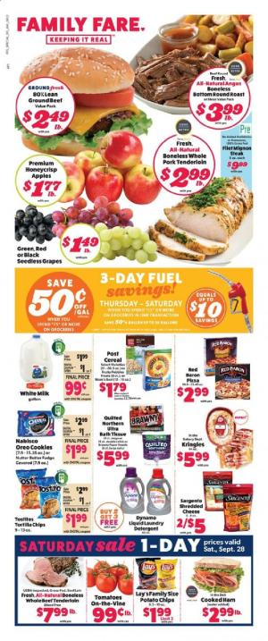family fare ad sep 22 28 2019