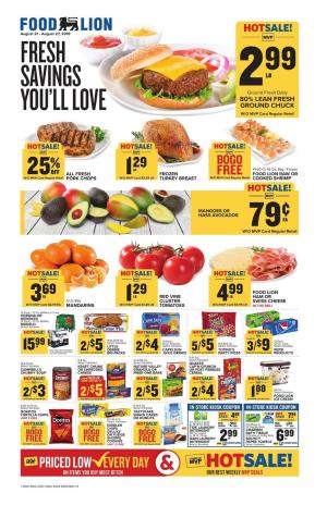 food lion weekly ad aug 21 2019