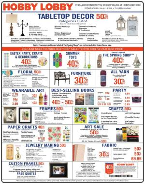 hobby lobby weekly ad apr 14 20 2019