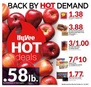 hy vee deals today