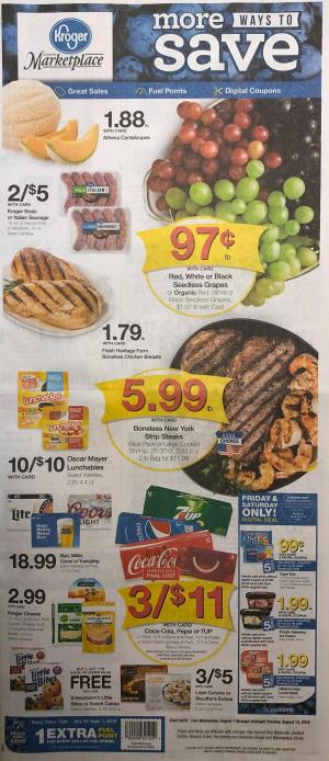 kroger weekly ad aug 7