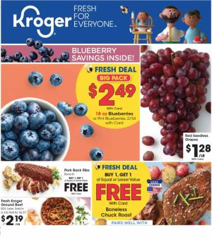 kroger weekly ad preview feb 19 2020