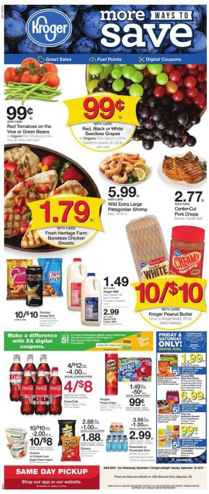 Kroger Weekly Ad Sep 4 - 10, 2019 | Grocery, Coupons, Previews