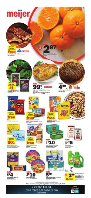 meijer weekly ad feb 17 2019