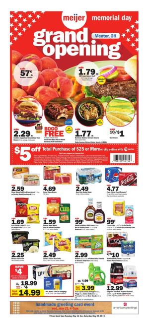 meijer weekly ad may 14 2019