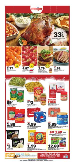 meijer weekly ad nov 17 2019