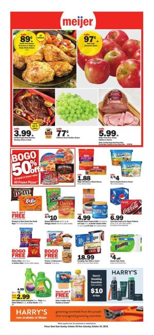 meijer weekly ad oct 20 2019