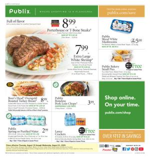 publix weekly ad aug 14 2019