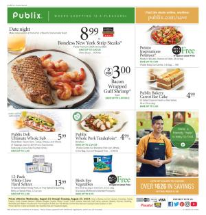 Publix Christmas Hours 2019 Publix Weekly Ad Aug 21   27, 2019 | BOGOs, Grocery, Weekly Deals