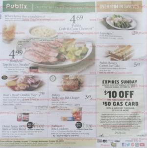publix weekly ad preview oct 16 2019