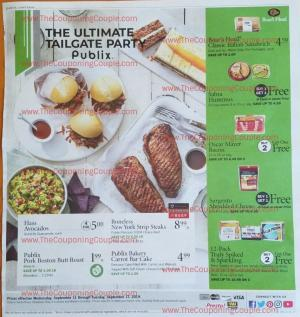 Publix Weekly Ad Sep 11 - 17, 2019 | BOGOs, Grocery, Weekly