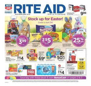 rite aid ad easter apr 14 20 2019