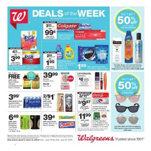 Walgreens Ad Jun 16 22 2019 Preview Pharmacy Ad