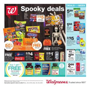 Walgreens Open On Christmas.Walgreens Ad Oct 27 Nov 2 2019 Preview Pharmacy Ad