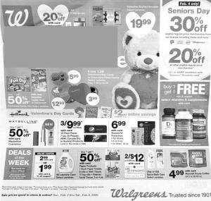 walgreens weekly ad preview feb 2 2020
