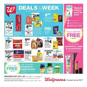 Walgreens Ad Sep 1 - 7, 2019 Preview | Pharmacy Ad