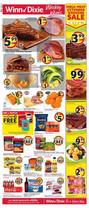winn dixie weekly ad apr 1 2020