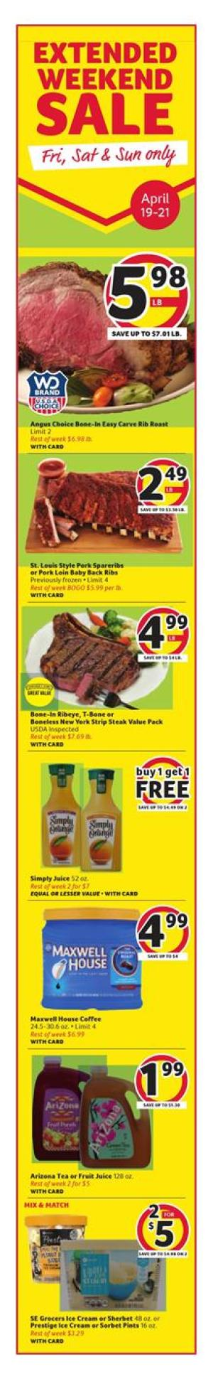 winn dixie weekly ad apr 17 2019