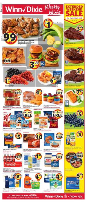 winn dixie weekly ad jan 22 2020
