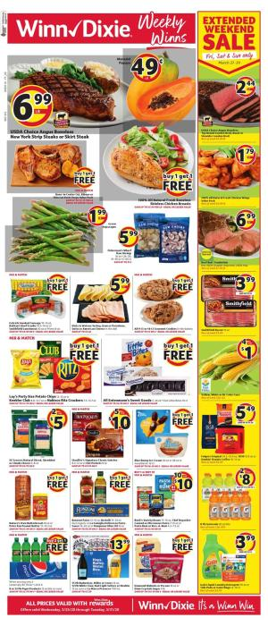 winn dixie weekly ad mar 25 2020