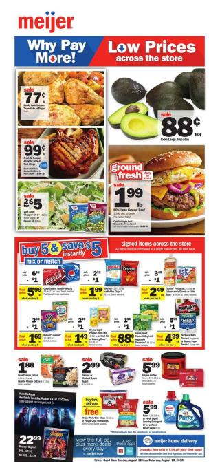 meijer weekly ad aug 12 2018