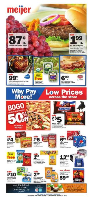 meijer weekly ad oct 21 2018