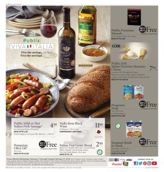 publix weekly ad february 21 2018