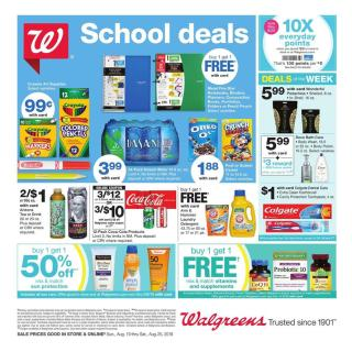 Walgreens Ad Aug 19 25 2018 Preview