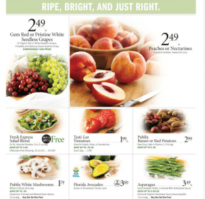 Publix Ad Fruits and Vegetables