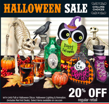 Cvs weekly ad halloween sale special offers