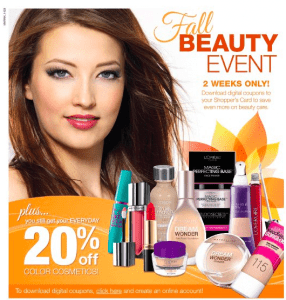 kroger ad fall beauty event