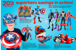target ad toys